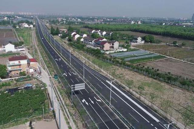 东方美谷大年夜道全线通车 将成上海美丽健康家当企业总部