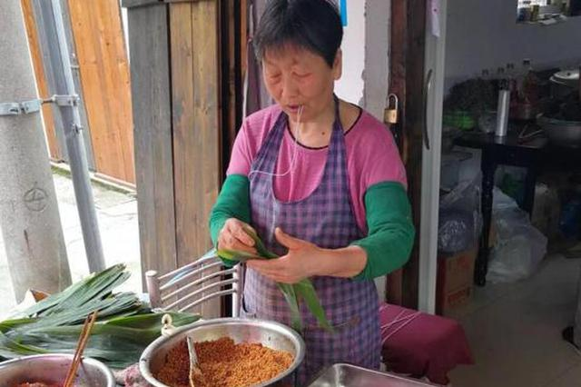 端午节上海粽子外卖量居全国第一 上海人最爱吃肉粽