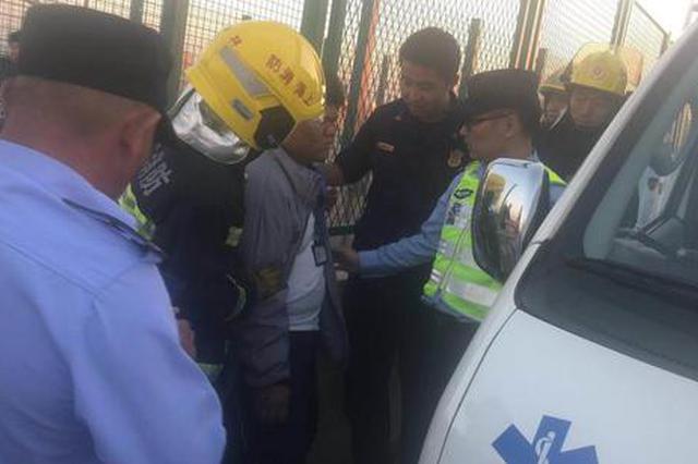 男孩和父母争吵后高速上欲跳桥 平易近警劝5小时解高兴结