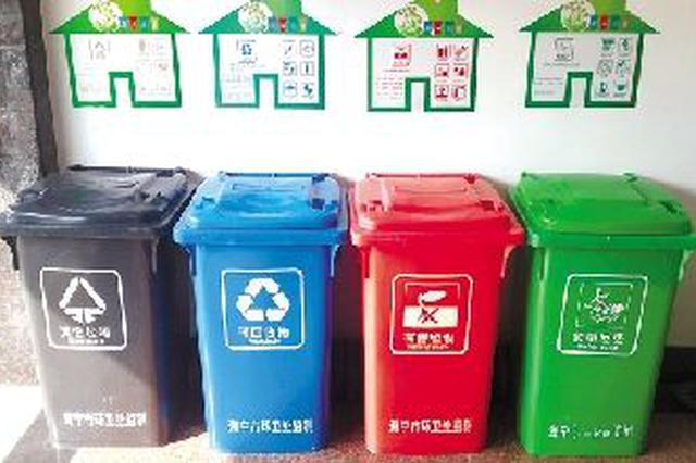 家用垃圾分类桶成申城市平易近抢手货 热点款限购供不该求