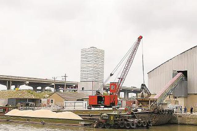 华新镇两家混凝土企业被投诉:水泥船卸货后放气声扰平易近