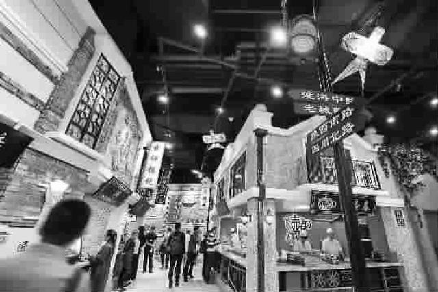 上海每平方公里有15家餐馆 餐饮业首店经济全国领先