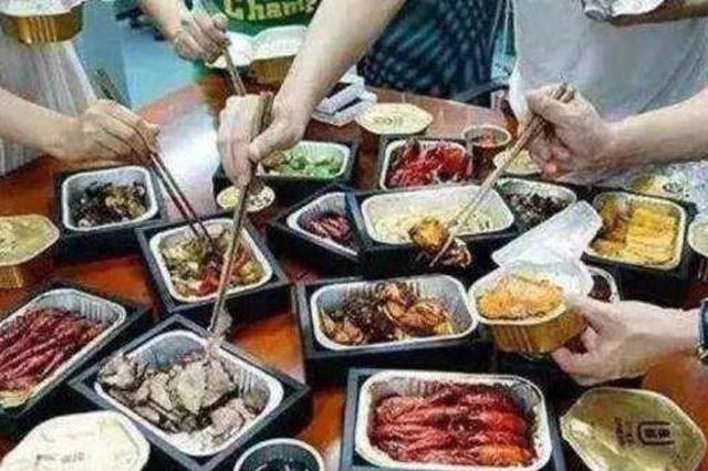 上海点外卖不要餐具人数增2倍 有人点烧烤不要签子