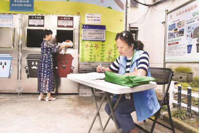 茅台花苑小区设立24小时垃圾投放点 方便夜班职工