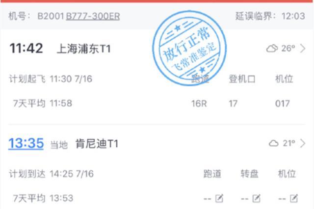 上海航班旅客飞行途中突发不适 三名中外医生共同救治