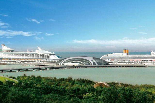 吴淞口国际邮轮港T2航站楼试运行 人工查验通道增30条