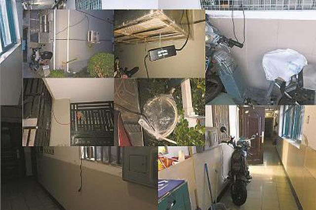 智能充电站推动难居平易近飞线充电 保安:充电本身想办法