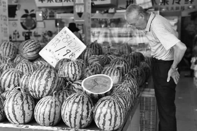 沪上瓜果菜肉价格平稳未现涨幅 上海人偏爱红烧肉