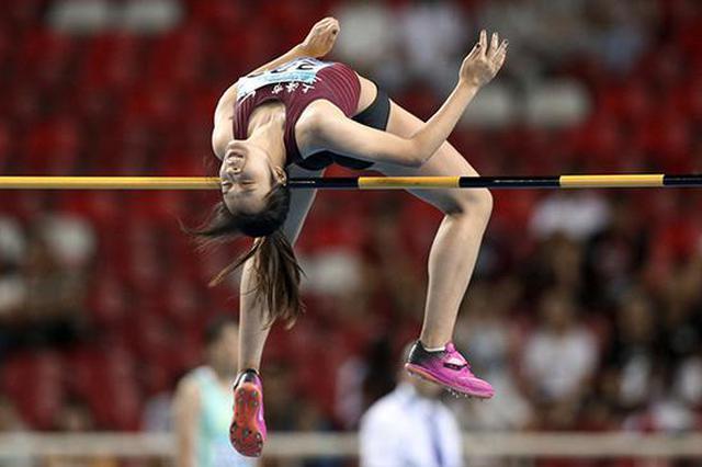 女子跳高上海拿下双金 16岁小将目标锁定亚洲第一