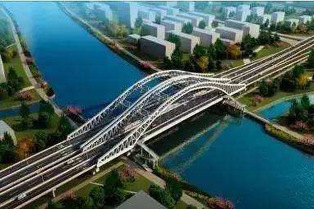 市重大工程昆阳路越江工程有序推进 预计2020年内竣工