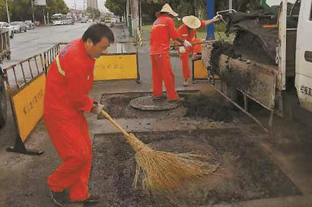 上海多部分专项整治井盖高差 新换井盖可同步路面沉降