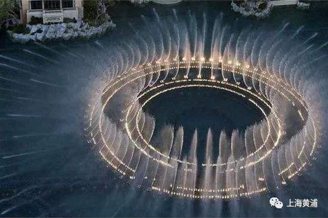 人民广场音乐喷泉国庆前亮相 喷泉范围扩大至24米