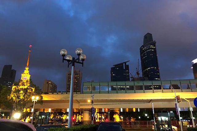 上海今明两天冲击35℃ 此后最高气温可降至30℃以下