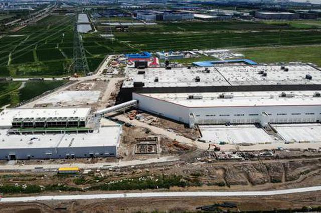 特斯拉项目又有新进展 结合厂房已经由过程落成综合验收