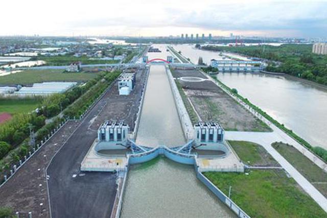 长三角最大内河枢纽基本完工 投用后可通行千吨级船舶