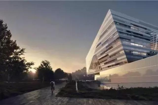 上海图书馆东馆实现主体钢结构封顶 将于2021年试开放