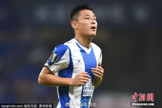 武磊斩获中国球员欧战正赛首球 西班牙人结束四场不胜