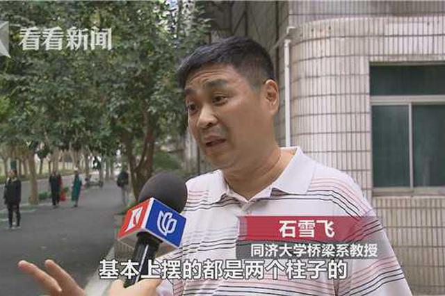 上海多半高架采取双柱式构造 稳定性安然性更高