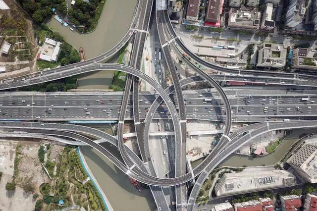 北横通道北虹路立交工程实现周全贯通 筹划10月底通车