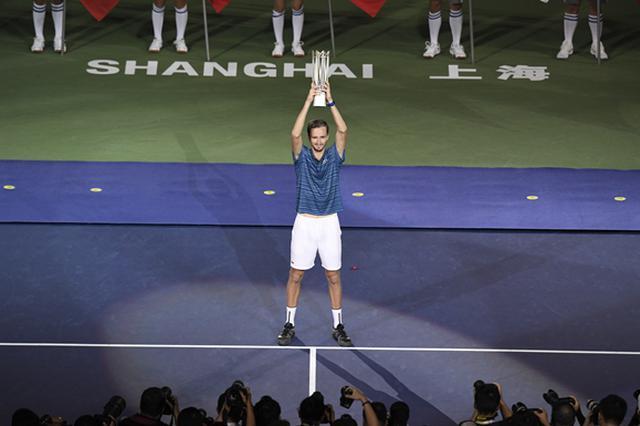 上海网球大师赛:梅德维德夫夺冠 积分排名反超费德勒