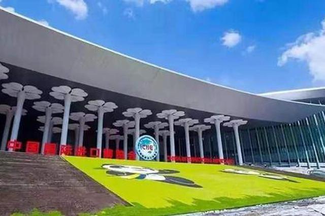 国展中心周边景观灯试灯 将呈白天看景、夜晚赏灯风貌