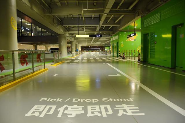 虹桥机场P7泊车库2F层区域完成维修 正式投入应用
