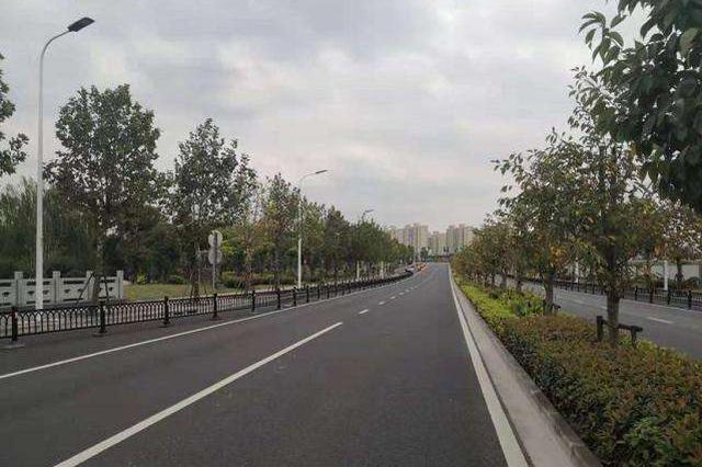天山西路全路段建成通车 向西延伸路段位于闵行和青浦