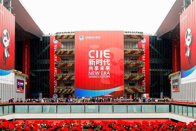 进博会大批展品已经抵达上海 4个集装箱进行开箱验货
