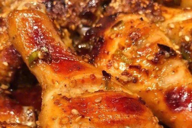蜜汁香辣烤鸡腿 无油烧烤更健康