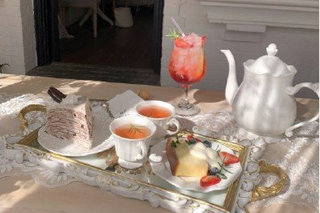 魔都三家下昼茶 颜值和味道都在线