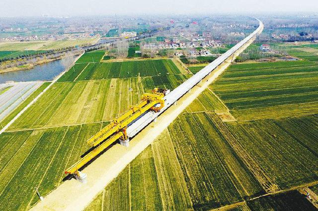 连镇铁路董淮段等将开通运营 长三角高铁将超5000公里