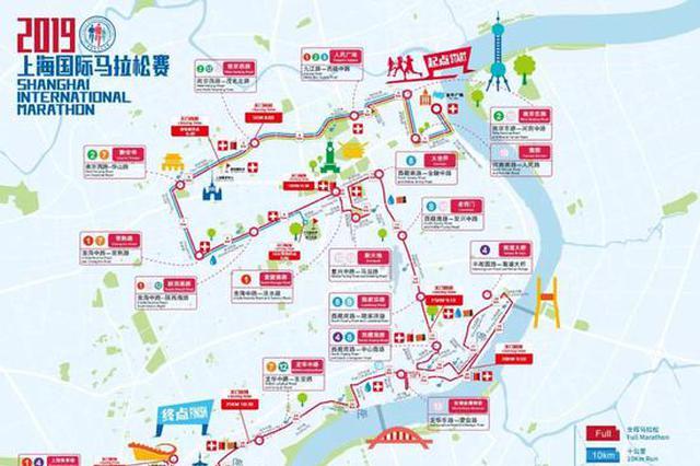 上海国际马拉松本周日开跑 部分门路将临时交通管束