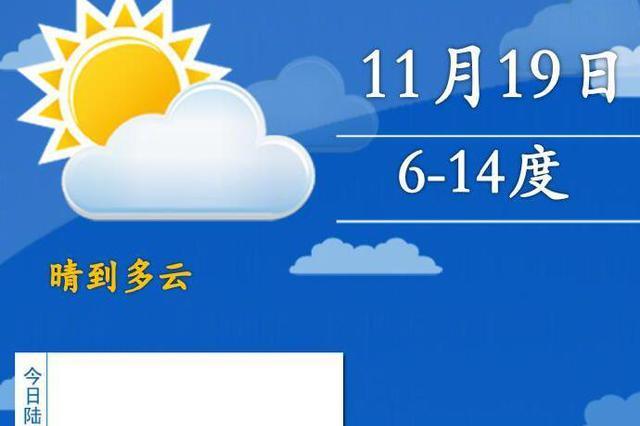 上海气温出现断崖式降低 20日日间起将慢慢回暖