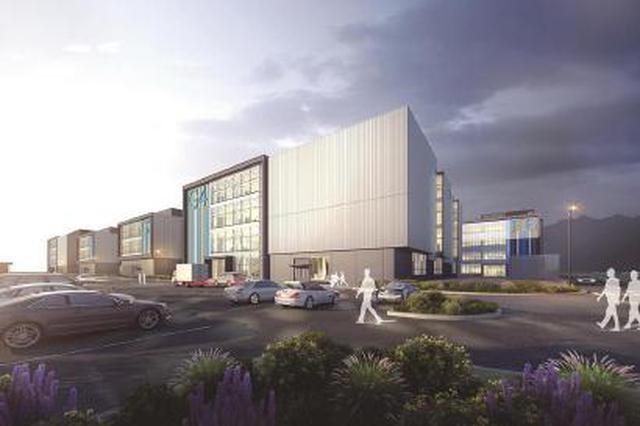 临港产业园区39栋标准厂房将竣工 等待生物医药企业入住
