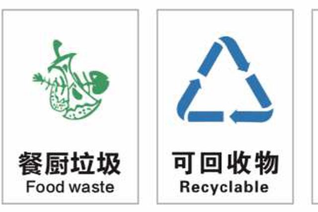 新版生活垃圾分类国标实施 上海目前暂不调整名称标识