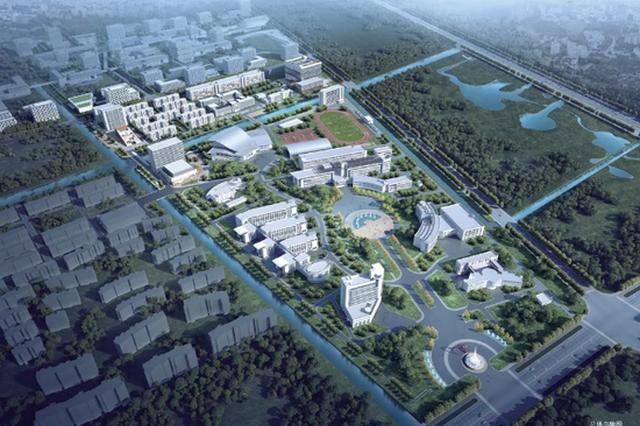 二工大金海路校区将扩建 教学楼、学生宿舍应有尽有