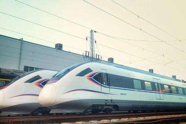 金山铁路新车型动车上线运行 载客量增加900人运能提升