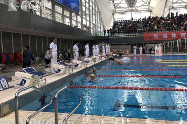 上海各类游泳赛事超过110项 带动数十万人次参与