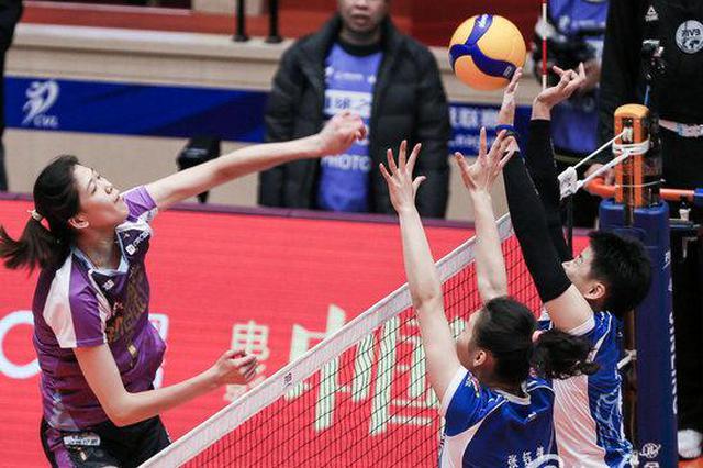 上海女排不敌天津 客场遭遇本赛季最惨痛失利