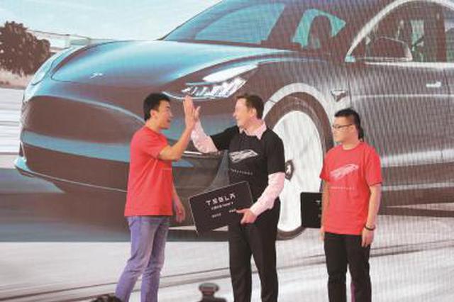 首批国产Model 3全面交付 特斯拉的365天见证上海奇迹