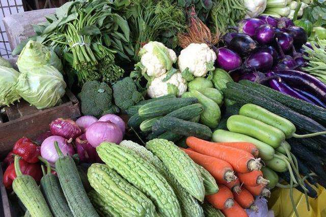 申城蔬菜市场日均供应6000吨应对寒流 平均价基本平稳