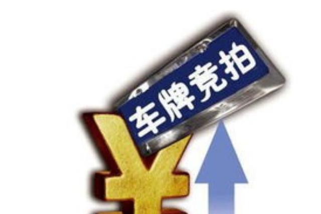 沪牌新年首拍下周六举行:个人额度8612辆 警示价89300元