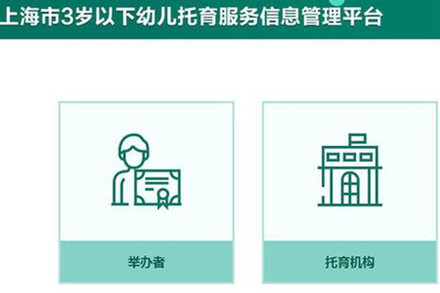上海普惠性托育点已覆盖74%街镇 本年将增托育点50个