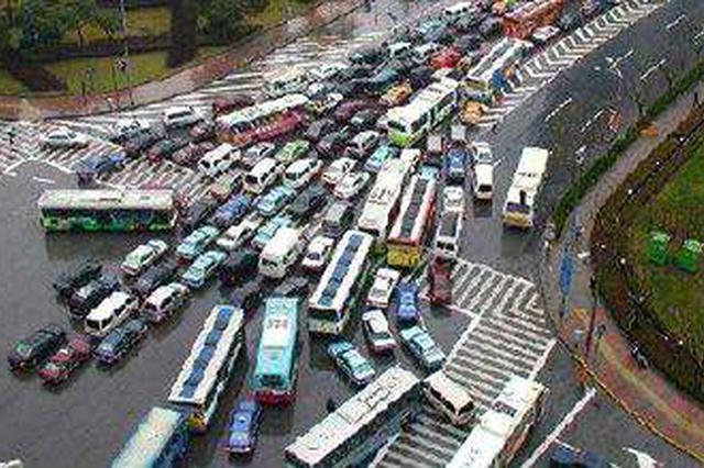 上海客岁完成56个交通拥堵节点改革 本年将再改革50个