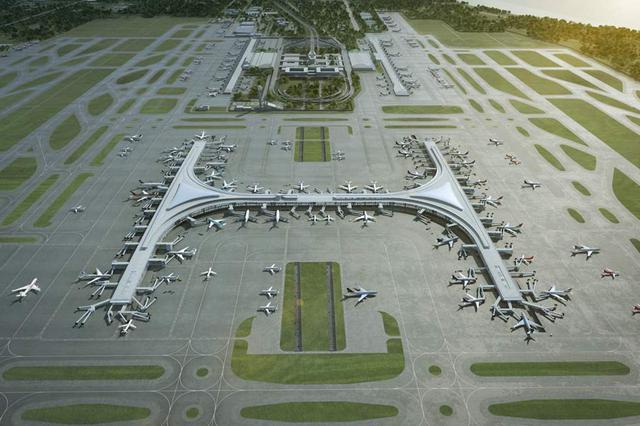 浦东机场卫星厅迎来首个春运大年夜考 航班客座率超95%