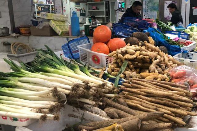 沪包管市平易近蔬菜供给 估计将来两天日供给量5000吨以上