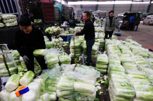 上海主渠道蔬菜供给持续充分 价格根本稳定