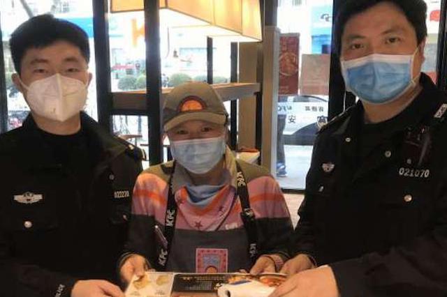 餐饮店防疫物品丢失 徐汇民警2小时找回助其安全复工