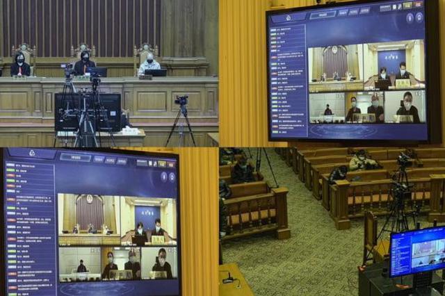 上海首例涉疫情刑事案件云审判 被告人获刑一年六个月