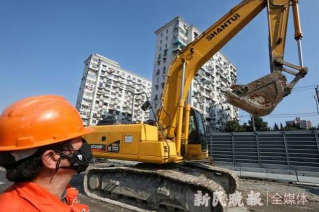 武宁路快速化改建工程复工扶植 筹划后年6月建成通车